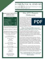 Newsletter 2009 Spring BTS