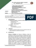 Informe 06 Mecanica de Suelos
