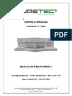 Manual de Procedimento TEC2800