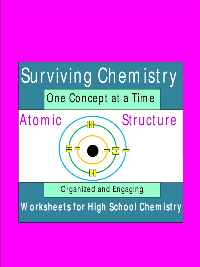 Atomic Structure Worksheets Atoms – Atoms Worksheets