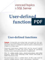 Advanced data base