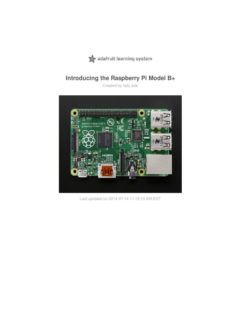 Introducing The Raspberry Pi Model B Plus Differences Vs Usb 62b Cable Schematic