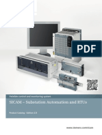 SICAM – Substation Automation and RTUs