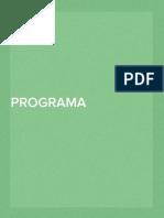 Programa Ciencias Sociales 2014