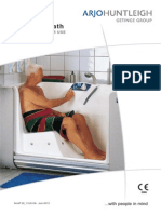 Arjo Freedom Bath Manual