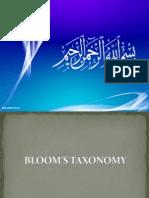 Bloom.taxanomy