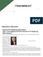 Budwig Protocol Archives - My Blog