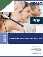 CallCenterSupervisor BestPractices White Paper Final