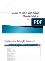 Emil_patayon_How to Use Windows Movie Maker