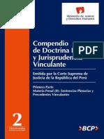 DGDOJ Compendio Doctrina Legal y Jurisprudencia Tomo II