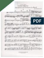 Concerto-paul Creston-para Saxo Alto y Orquesta-saxo Alto