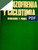 Esquizofrenia y Ciclotimia - Gerd Huber
