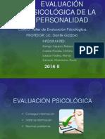 Evaluación Psicológica de La Personalidad Final