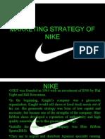 Marketing Strategy of Nike