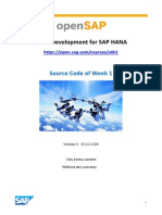 OpenSAP a4h1 Week 1 Source Code