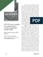 """Resenha """"Os comunistas caem no samba"""""""