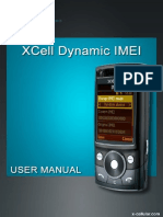 Xcell Dynamic Imei User Manual