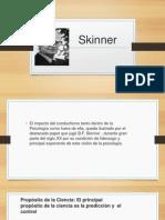 El conductismo de Skinner