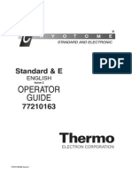 Cryotome Thermo _Red_ 77210163 620 & E Operator Guide (Issue 2)