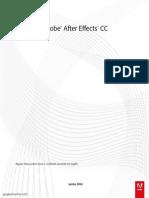 Manual After Effects Cc 2014 Português Br