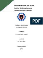 Balotario Farmacologia Unidad IV