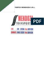 Transportes Mendoza Srl