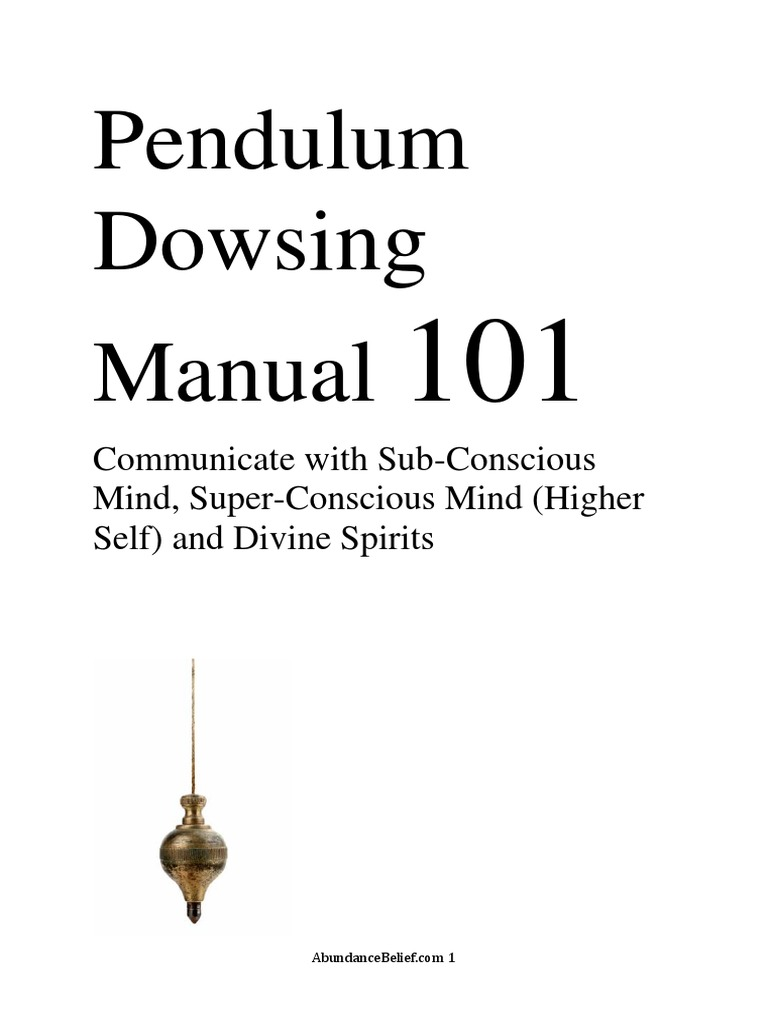 Where Do Dowsing Answers Come From?