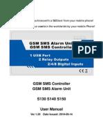 [Alarma GSM] GSM SMS Alarm