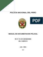 MANUAL DE DOCUMENTACION POLICIAL DIREJE EDUCACION Y DOCTRINA.doc