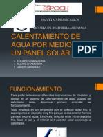 Instrumentos de Medicion y Control en Un Panel Solar