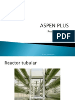 ASPEN PLUS (Reactor Tubular)
