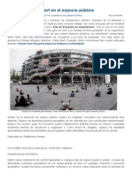 Indicador Del Confort en El Espacio Público - IMUTC