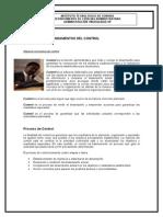 Lectura Fundamentos y Proceso Del Control