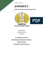 Job Sheet Pengantin Barat Sanggul Back