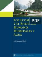 Los Ecoistemas y El Bienestar Humano