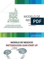 Modelo de Negocio, Metodologia Lean Start Up