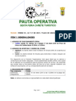 Pauta Operativa 2014-2015