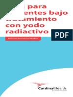 Guia Para Pacientes En Tratamiento Con Iodo Radioactivo