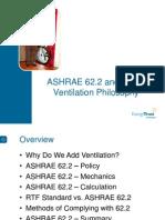 Ashrae 62.2 Ventilation Orientation