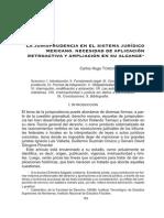 jusiprudencia en el sistema juridico mexicano