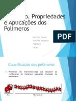 Polímeros Trabalho de Materiais
