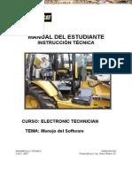 Manual Estudiante Manejo Software Caterpillar Ferreyros