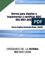 ISO 9001 2008  NAHG