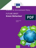 Green Behaviour