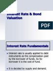 Interest Rate & Bond Valuation