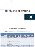 Part 1 Teaching Listening Skills (Pelatihan Guru Kab Siak 2009)