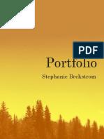 Stephanie Beckstrom Portfolio