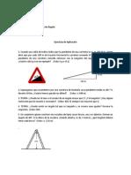 Ejercicios de Aplicación de Trigonometría