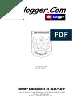 Modul Belajar Blog...SMPN 3 Bayat Klaten