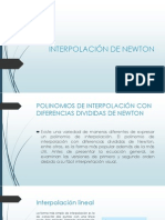 INTERPOLACIÓN DE NEWTON.pptx